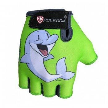 49122b70bea Cyklo rukavice POLEDNIK Dětské New Delfín