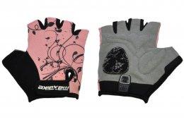 33b52f41141 Cyklo rukavice POLEDNIK Pánské F4 reflexní žlutá