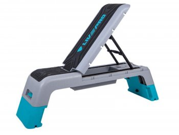 Fitness schod step aerobic LIVEPRO Fit Deck