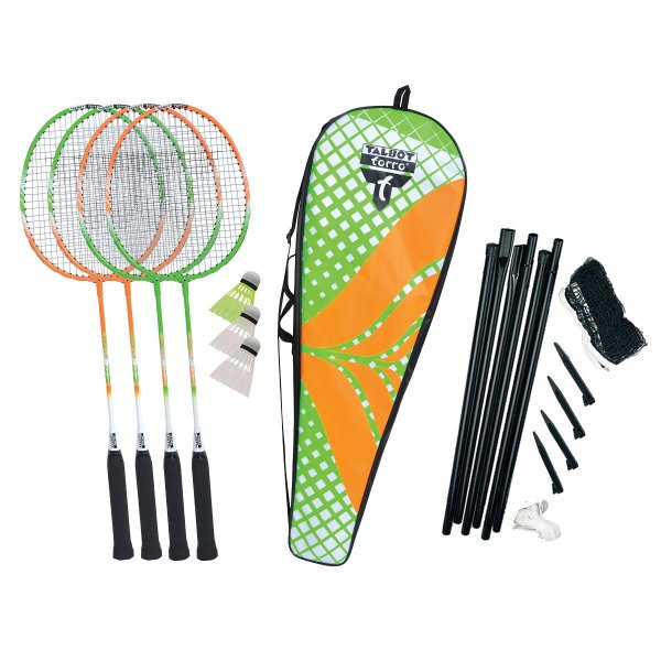 Badmintonový set TALBOT TORRO 4 Attacker Plus