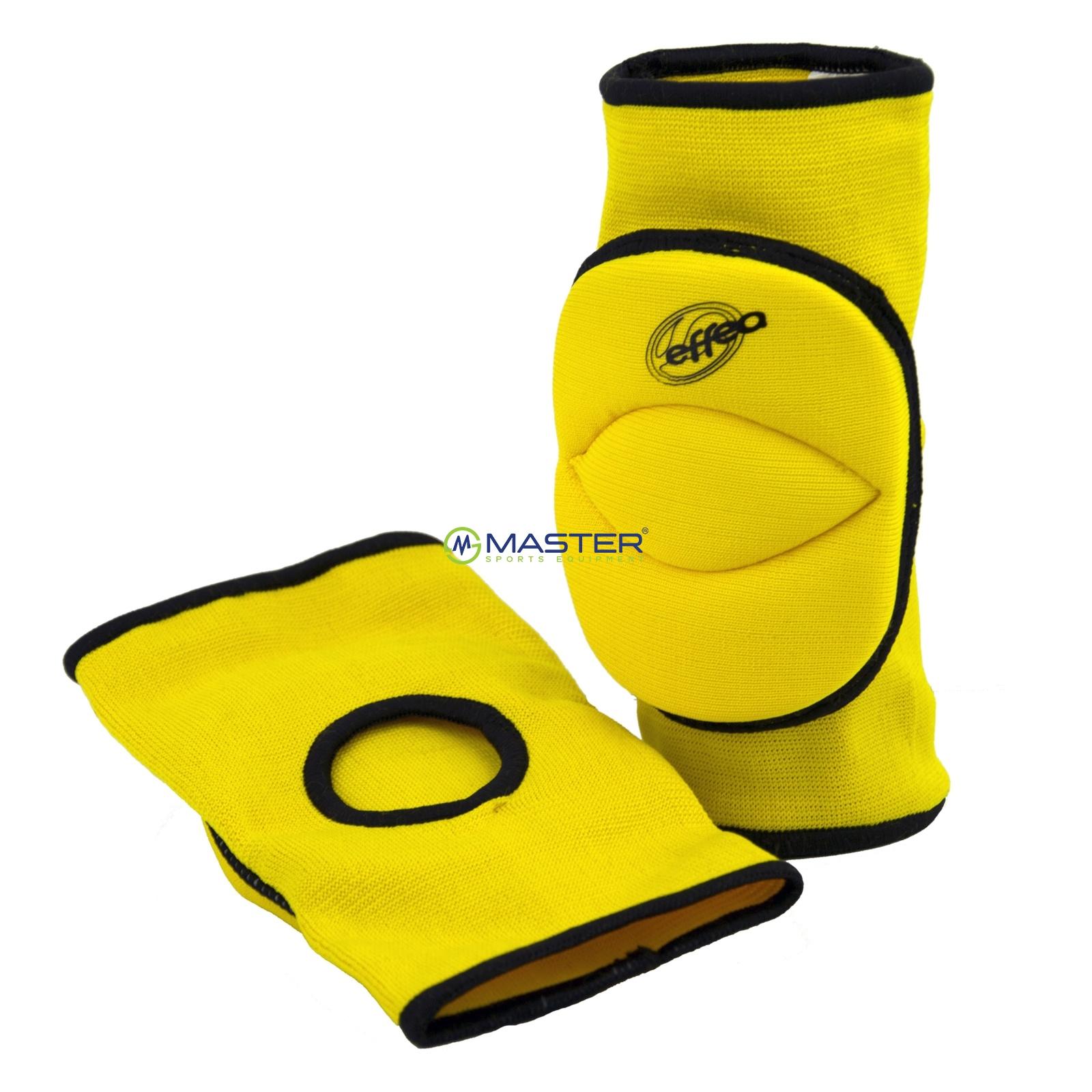 Volejbalové chrániče kolen EFFEA 6644 junior žluté  37dabfe720