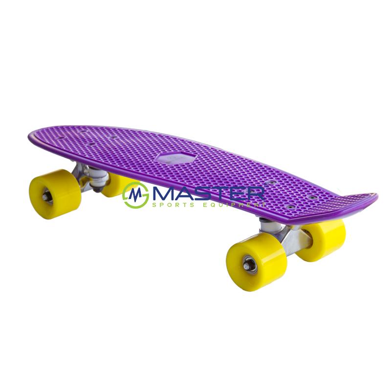 e009db822 Plastic Penny Board SPARTAN - fialový | NEJLEVNEJSISPORT.CZ ...