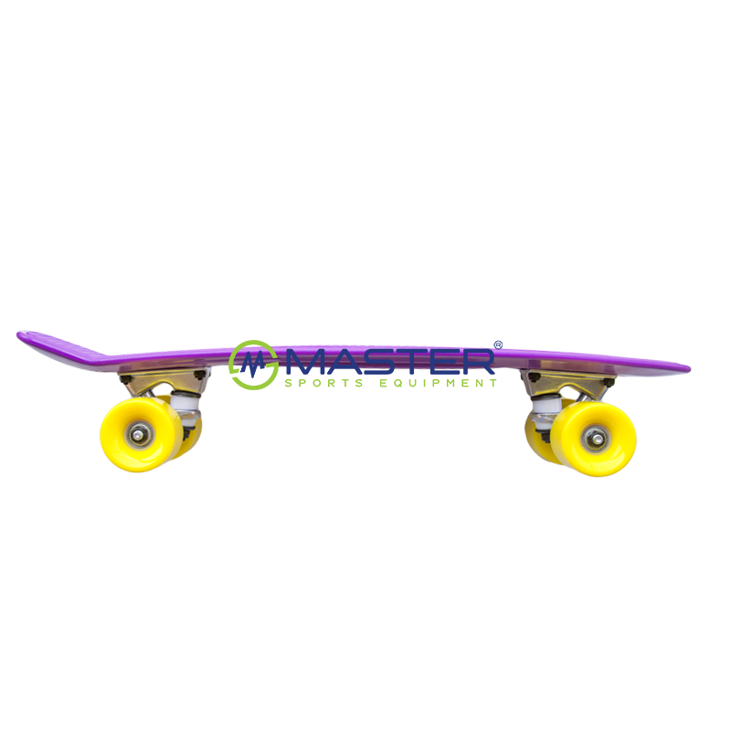 Plastic Penny Board SPARTAN - fialový  37fdc280918