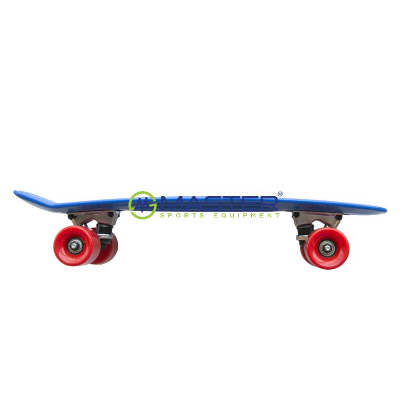 Plastic Penny Board SPARTAN - modrý  a30f9a23b3e