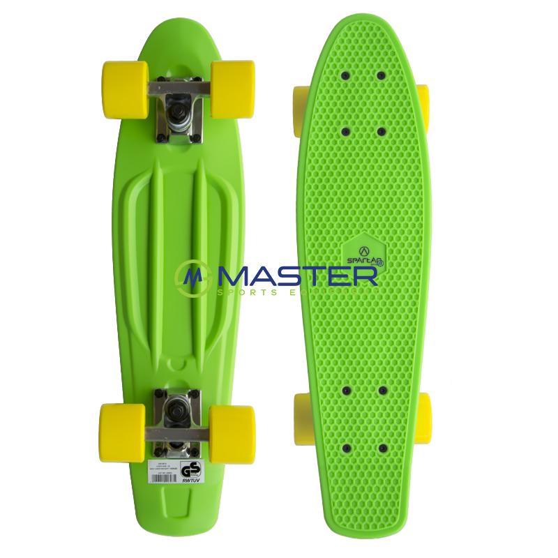 Plastic Penny Board SPARTAN - zelený  c388016ea17