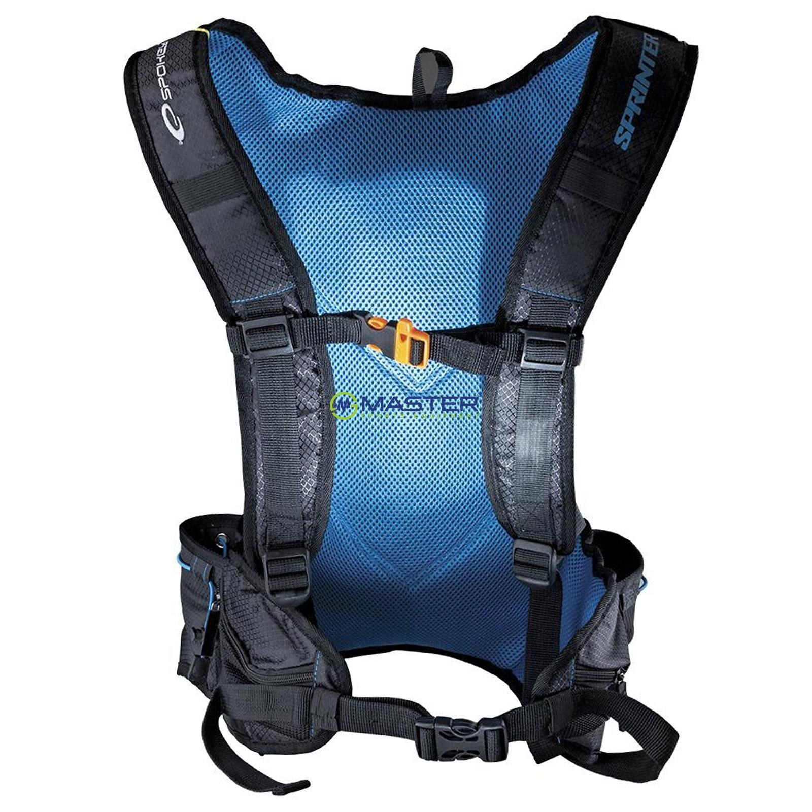 166990513 Batoh SPOKEY Sprinter 5L modro-černý | NEJLEVNEJSISPORT.CZ