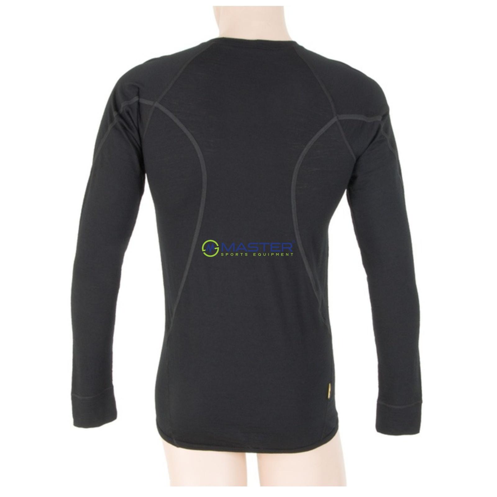 Triko dlouhý rukáv SENSOR Merino Wool Active pánské černé. celá galerie 4e20b70a46