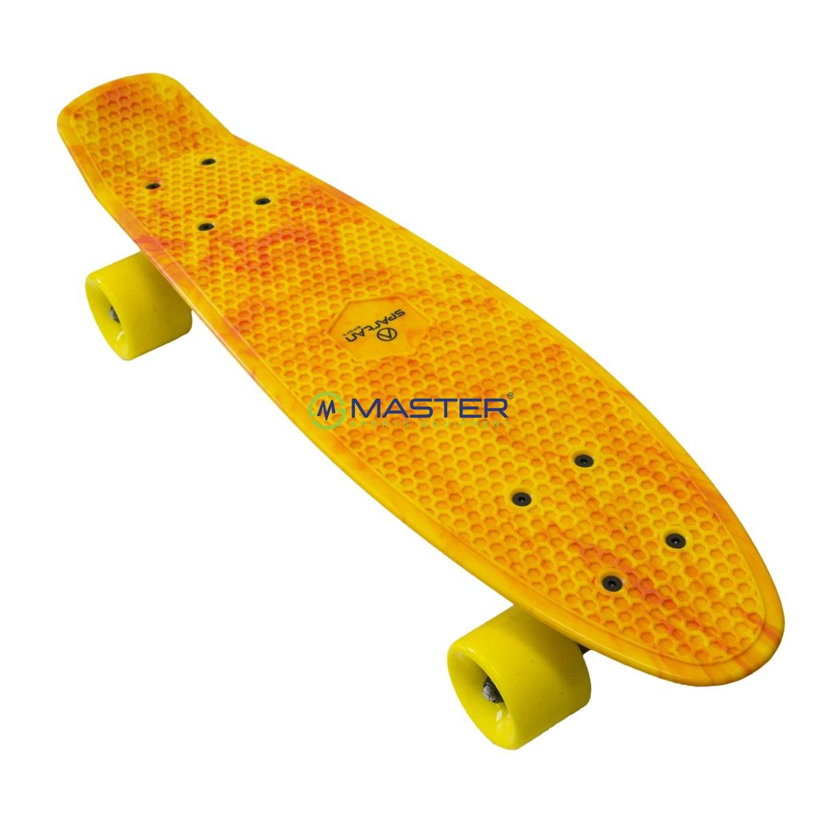 497234e35 Plastic Penny Board SPARTAN - žlutý | NEJLEVNEJSISPORT.CZ ...
