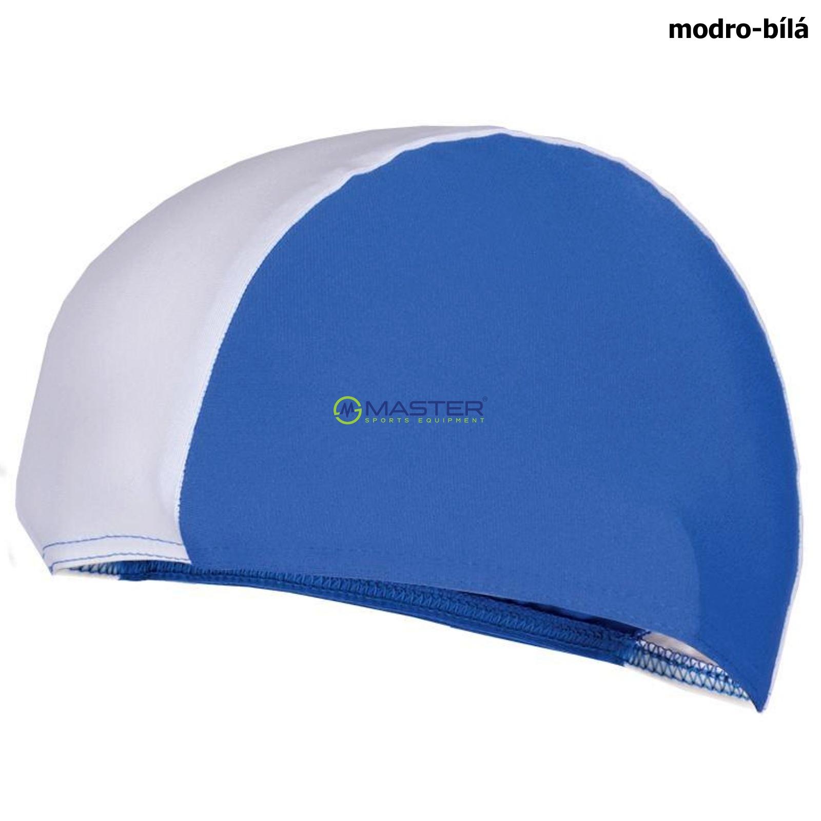 Plavecká čepice SPOKEY Lycras - modro-bílá  67137ef66e