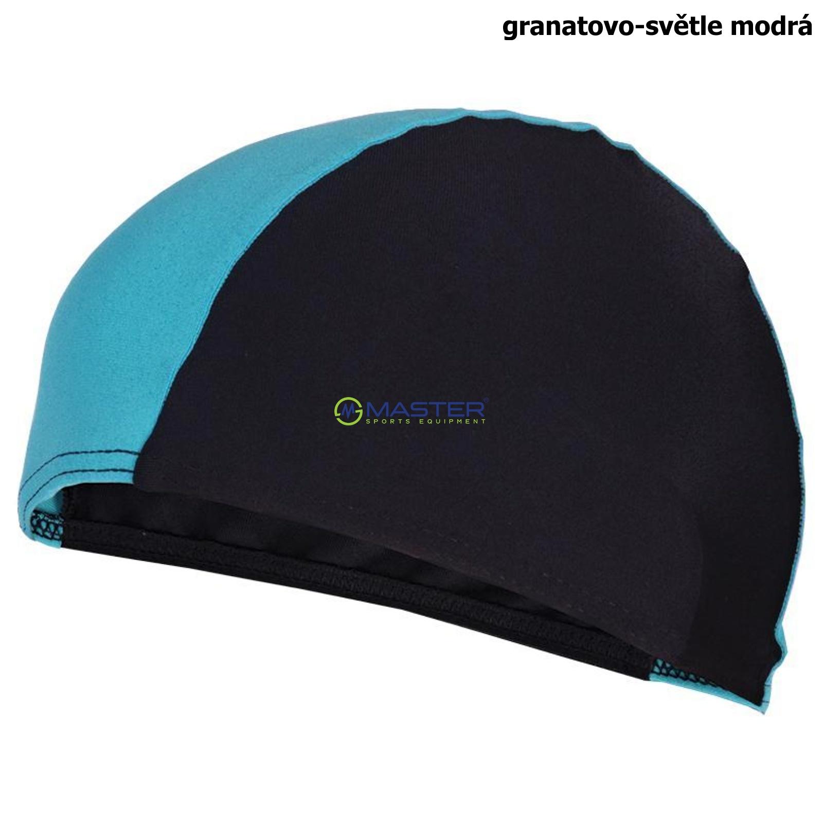 Plavecká čepice SPOKEY Lycras - granatovo-sv. modrá ... 7199a2048c