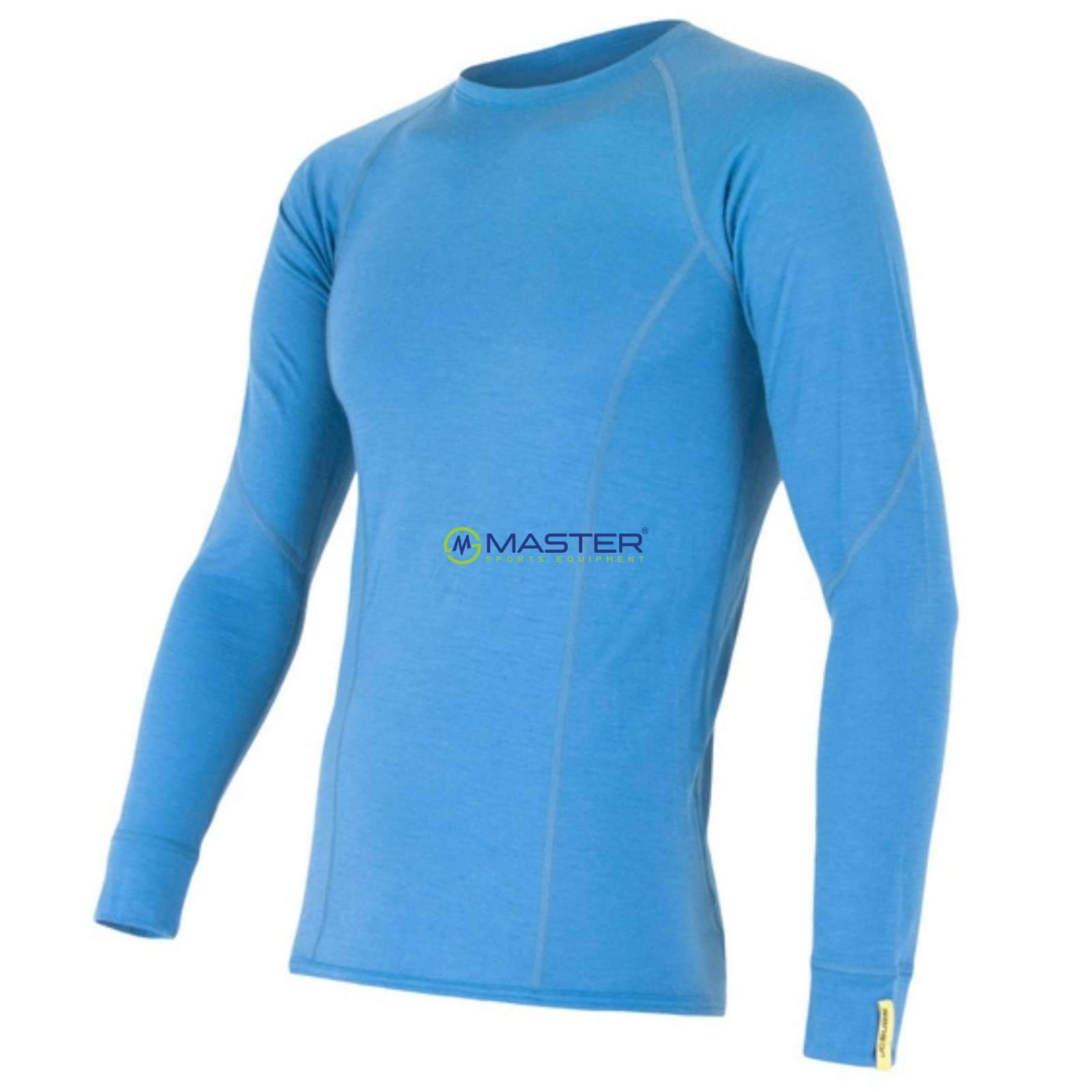 Triko dlouhý rukáv SENSOR Merino Wool Active pánské modré ... fff7395407