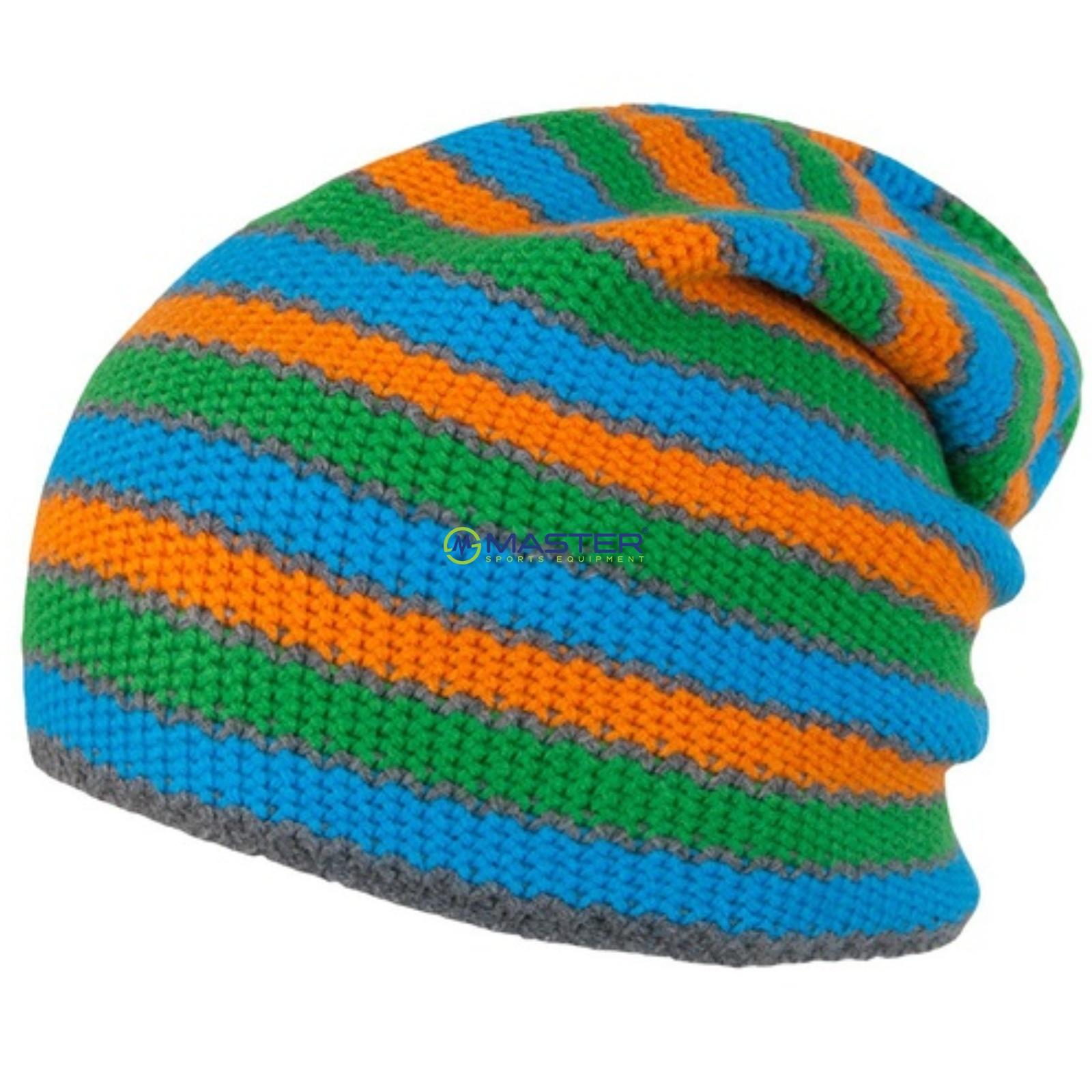 fd4a56c2d6a Čepice SENSOR STRIPES modro-zeleno-oranžová