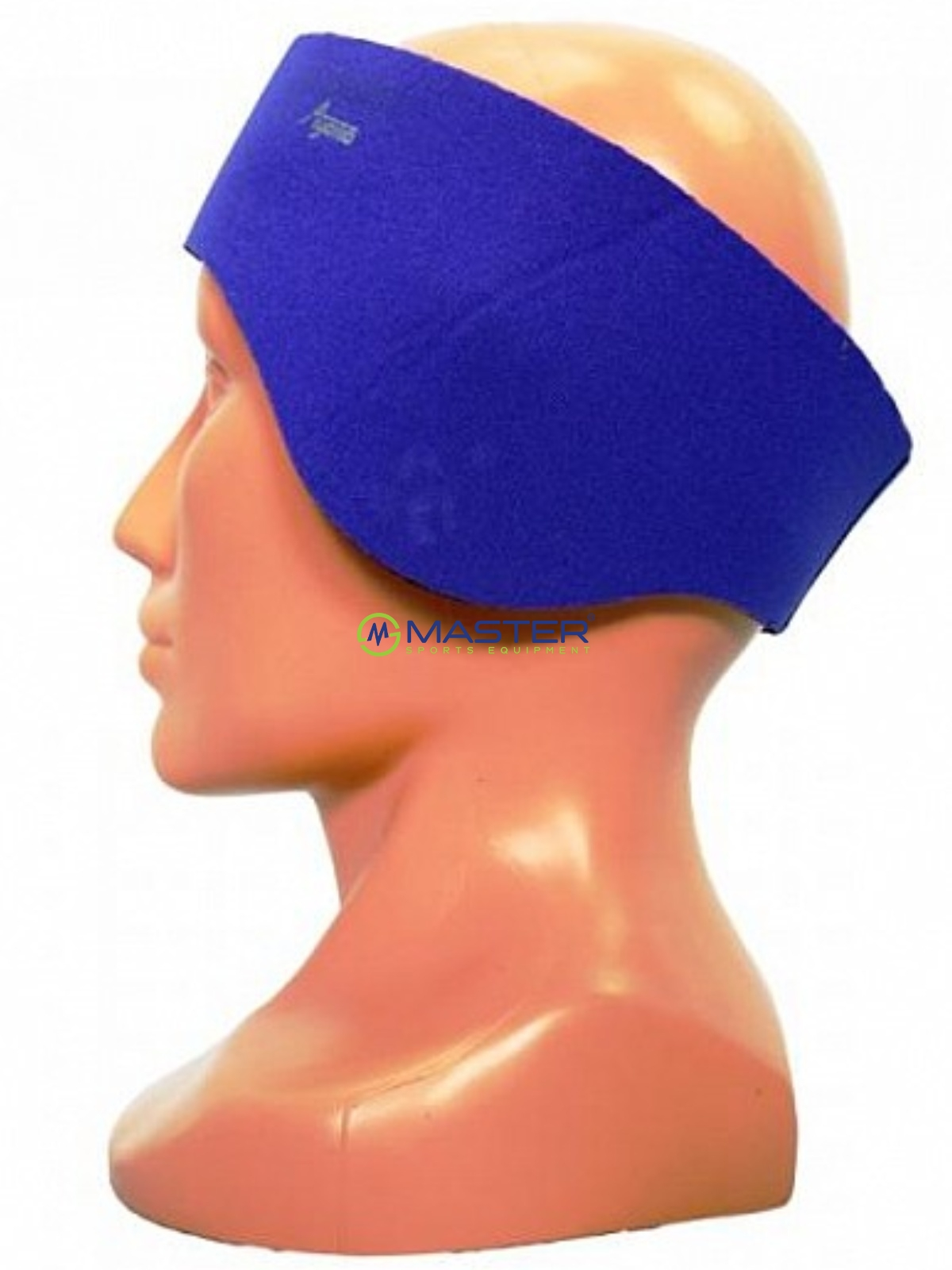 Neoprenová čelenka AGAMA 3 mm modrá - vel. 64  56fe5c07c1
