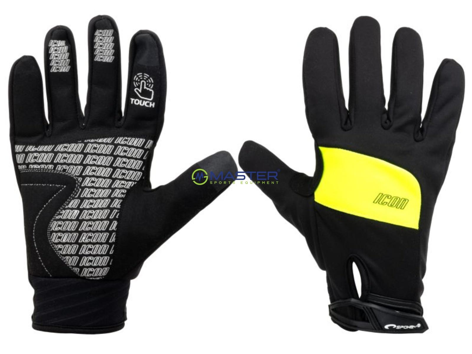 Cyklistické rukavice SPOKEY Icon černo-žluté vel. XL ... 3d312109b0