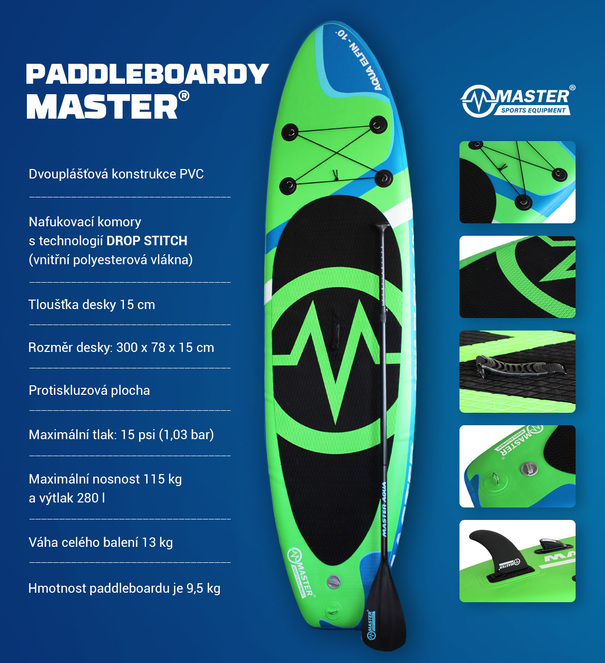 paddle info